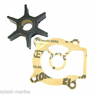 Impeller & Gasket Suzuki DT25 1983-88 DF25 2000-10 Outboard Replaces 17461-96301