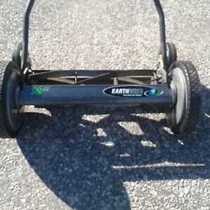 Reel push mower and String Trimmer