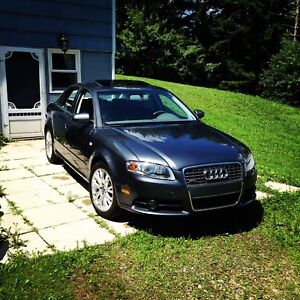 2008 Audi A4 S-line *6speed *AWD