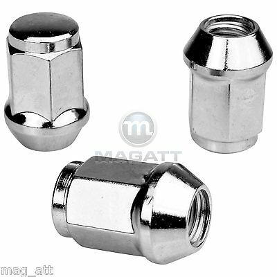 20 CHROME WHEEL NUTS FOR STEEL WHEELS FORD MONDEO & Estate B4Y/ B5Y/ BWY / BA7