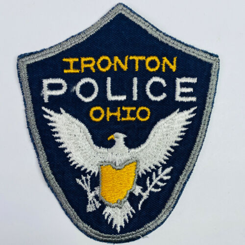 Ironton Police Lawrence County Ohio Patch (A)