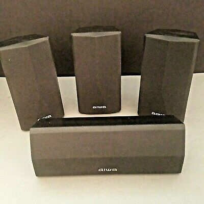 Aiwa Surround System Speakers Home Theater 1-SX-C1900 1-SX-R1900 2-SX-AV1900, used for sale  Shipping to India