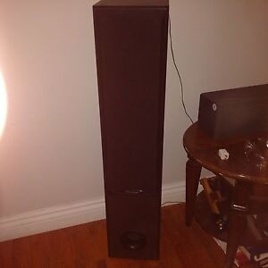 Complete Home stereo receiver and speaker