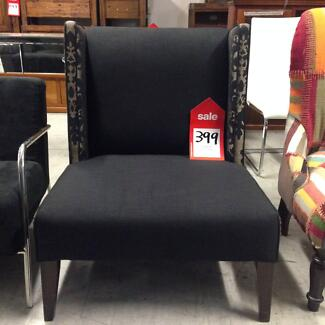 FACTORY SECONDS OUTLET 50-80% off RRP - Designer Armchair Richmond Yarra Area Preview