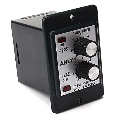 Us Stock Timer Atdv-y 12v Dc 60s Second Double Time Delay Switch Base Socket