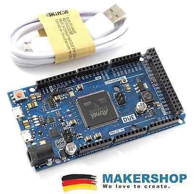 Due 2012 Entwicklungsboard Usb - Atmel Arduino Komp. Sam3x8e 32-bit Cortex-m3