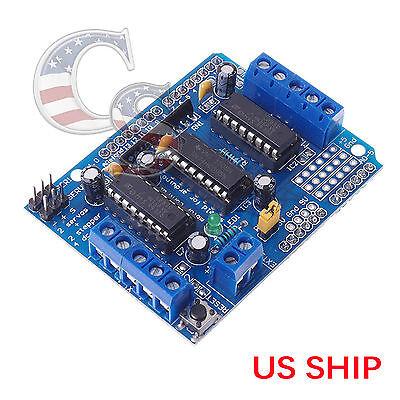 L293d Motor Drive Shield Expansion Board For Arduino Duemilanove Mega Uno