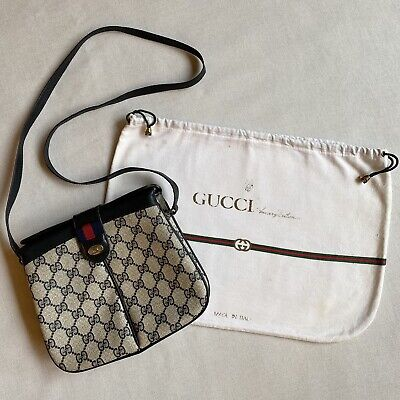 "Vintage GUCCI ""ACCESSORY COLLECTION"" Crossbody/Shoulder Bag with Dust Bag 