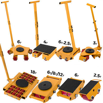 6t-16t Machinery Mover Multi Species Machinery Pulling Bar Dolly Skate
