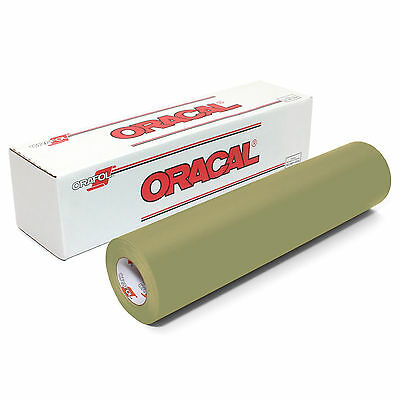 ORACAL 631 Adhesive Backed Matte Vinyl 12in x 10ft Roll - OLIVE