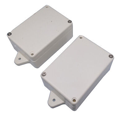Us Stock 2pcs Plastic Project Box Electronic Enclosure Case Diy 83 X 58 X 34mm