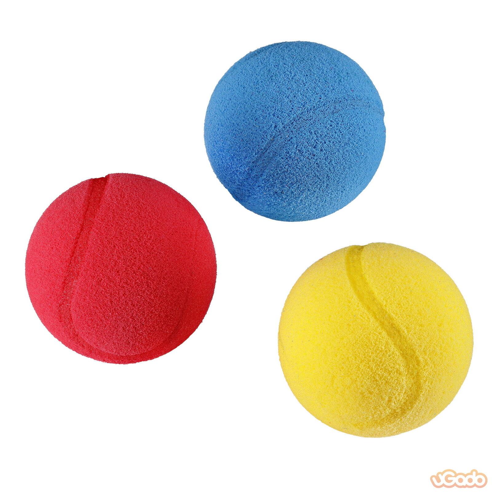 3x Mondo Softball Tennisball Schaumstoffball Anti Stress Ball 7 cm