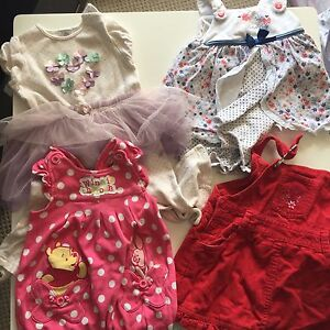 Baby girl size 0 summer clothes for sale Seaford Morphett Vale Area Preview