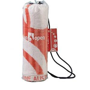 Australian Open Gym Towel (59x90cm) by Sheridan BNIP RRP $40 Belrose Warringah Area Preview