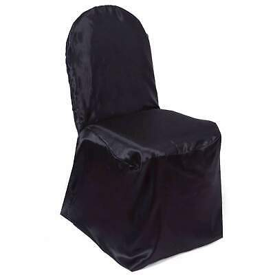 Satin Banquet Chair Covers Wedding Reception Party Decorations 3 Colors!](Wedding Reception Decoration)