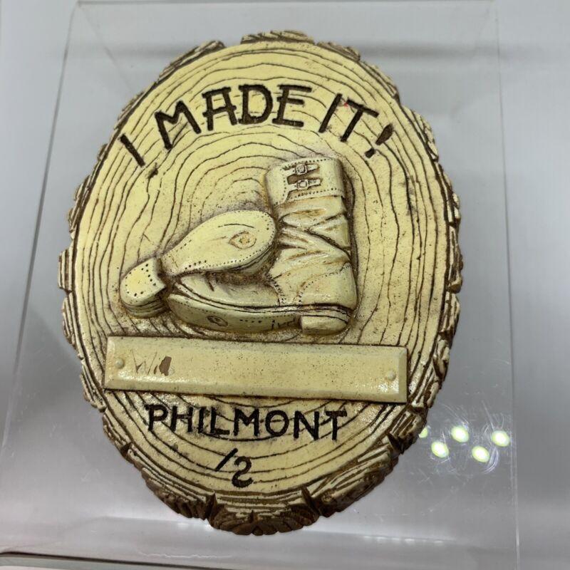 Vintage BSA Boy Scouts I Made It! Philmont Ceramic Plaque