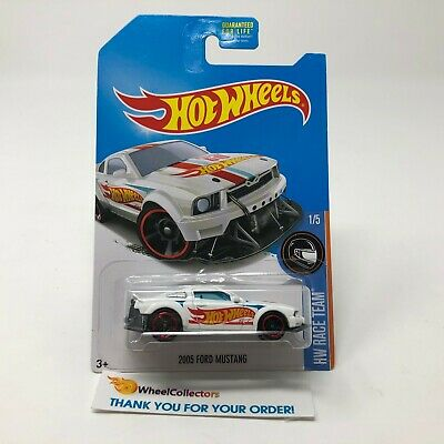 2005 Ford Mustang * White Kmart Only  * 2017 Hot Wheels * Q22