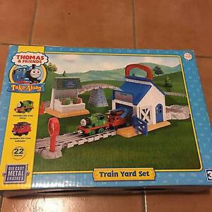 Collectible - Thomas & Friends Take Along Train Yard Set Leopold Geelong City Preview