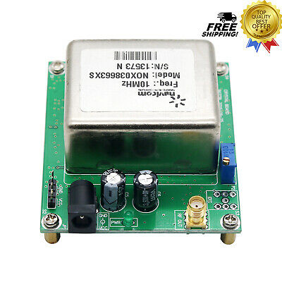 Brand New 10mhz Ocxo Crystal Oscillator Frequency Reference With Board