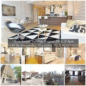 Open house Sunday August 20th, 2-4pm  1449 St-Alexandre