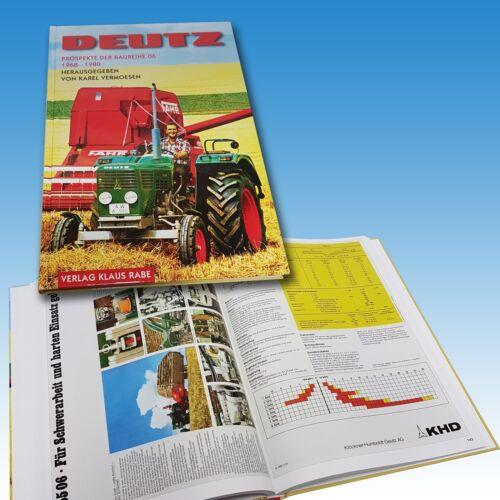 Deutz Prospekte der Baureihe 06 Buch Traktor Schlepper Oldtimer  Foto 1