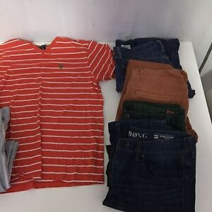 Men's Designer label jeans and shirt quick sale bulk buy Spring Hill Brisbane North East Preview