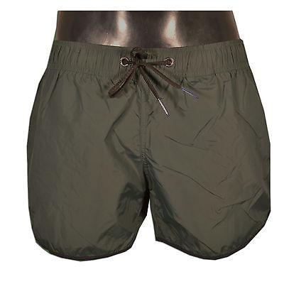 RRD - Boxer Costume da Mare PONENTE SUPER - 7225 - Colore Verde 20 - Taglia  32 1b2d6814fb3