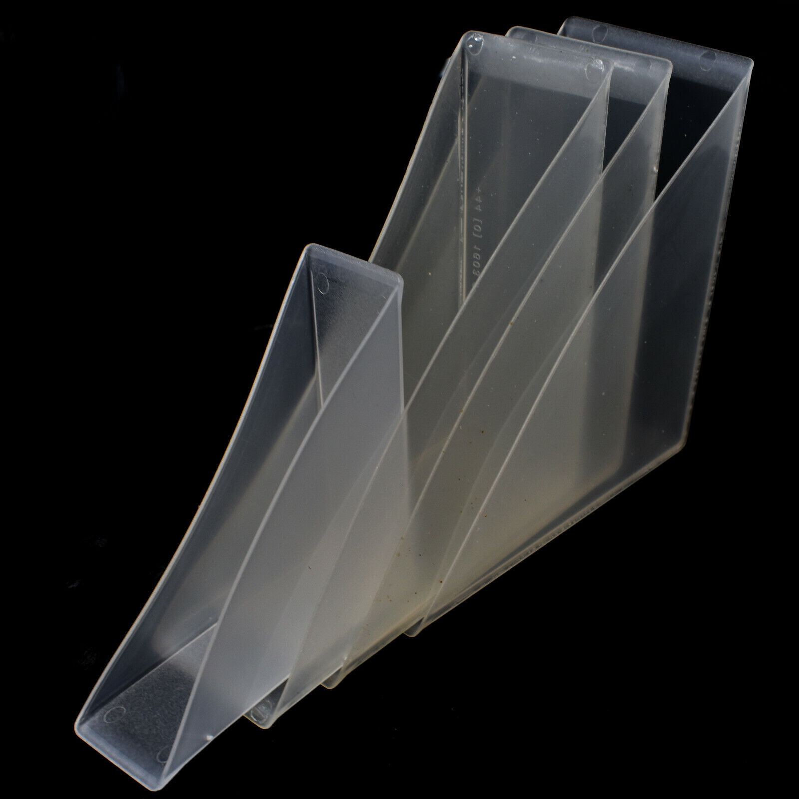 Clear Pvc Plastic Picture Protective Frame Corners Push On