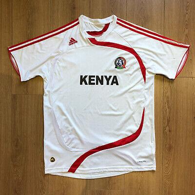 Kenya Home Adidas Football Shirt (XL) 2009 Africa image