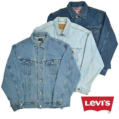 Vintage Levis Lee Wrangler Denim Jackets Various Colours XS,S,M,L,XL,XXL
