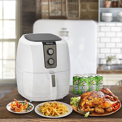 DELLA Electric AirFryer XL 5.8-qt 1800watt Extra Large Fryer