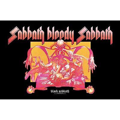 BLACK SABBATH premium fabric poster BLOODY SABBATH
