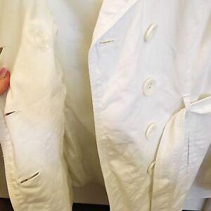 White spring / autumn coat size S London Ontario image 3