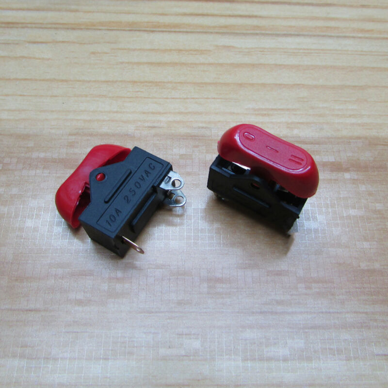 Electrical Hair Dryer Button Switch Gears Speed Up Switch Rocker Switch 10A 250V