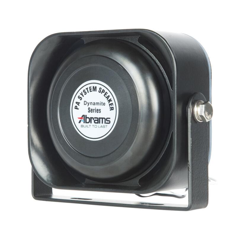 Compact 100 Watt Siren Speaker Ultra Slim Capable with Any 100 Watt Siren