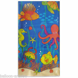 Underwater Under The Sea Marine Life Children's Party Plastic Table Cover