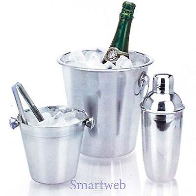 Eiswürfelbehälter Eiseimer Weinkühler Cocktailshaker Cocktailset Flaschenkühler