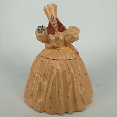 1997 Glinda The Good Witch Wizard of Oz Ceramic Cookie Jar Warner Bros Store