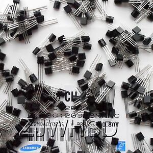 A1015-2N5551-360pcs-18value-Bipolar-Signal-Transistor-TO-92-NPN-PNP-Kit-Set