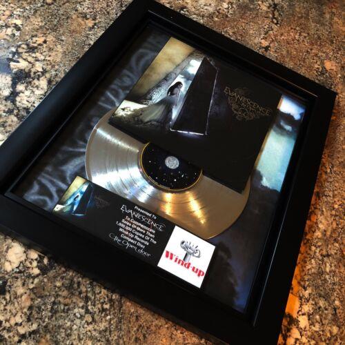 Evanescence The Open Door Million Record Sales Music Award Disc Album LP Vinyl