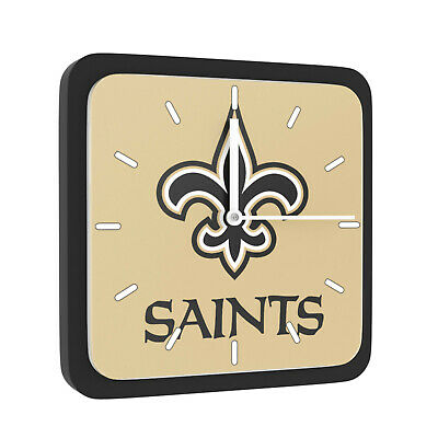 New 3 in 1 NFL New Orleans Saints Home Office Decor Wall Desk Magnet Clock 6