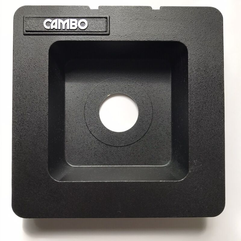 Cambo View Recessed Lens Board For Copal 0 Shutters