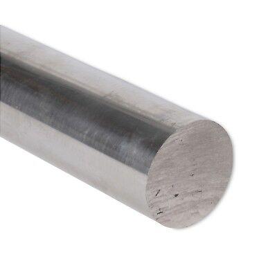 2 Diameter 6061 Aluminum Round Rod 8 Length T6511 Extruded 2.0 Inch Dia