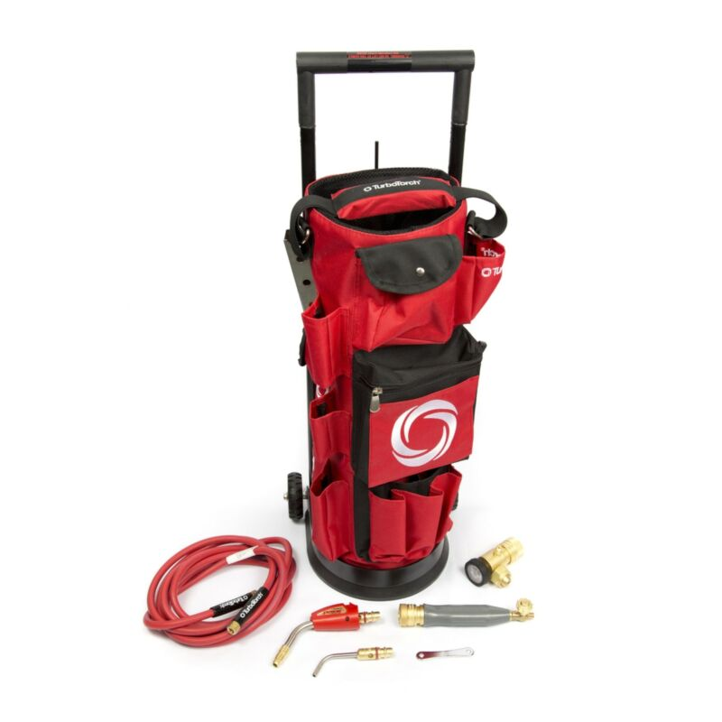 TurboTorch TDLX2010B Extreme Air Acetylene Torch Tote Kit 0386-0578