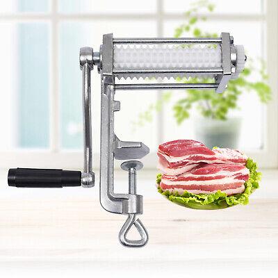 Meat Tenderizer Cuber Steak Machine Flatten Cast Iron Kitchen Tool 8 X3.5 X10