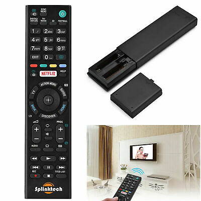 Replacement Sony Remote Control for Bravia Plasma TV LCD LED Television NETFLIX