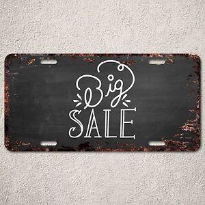 Lp292 Big Sale Rust Vintage Auto Car License Plate Home Store Wall Decor Sign Ebay