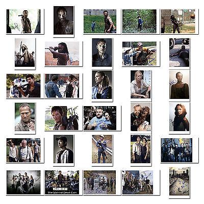 The Walking Dead - Cast mit versch. Darstellern - Autogrammfotokarte zur Auswahl