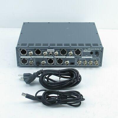 Prism Sound Dscope Series Iii Digital Analog Audio Analyzer