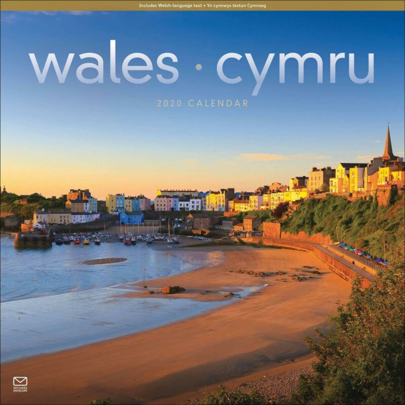 Wales+2020+Official+Square+Wall+Calendar